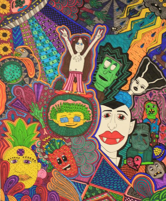 Moodle Doodle by Shaniah Kabigebi of Lac Courte Oreilles Ojibwa Community College