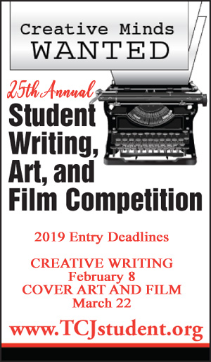 2019 TCJ Student Writing, Art and Film Competition