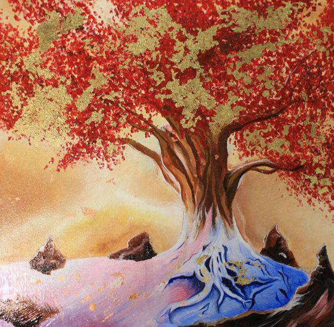 Spark of Imagination by Amanda White of Nueta Hidatsa Sahnish College