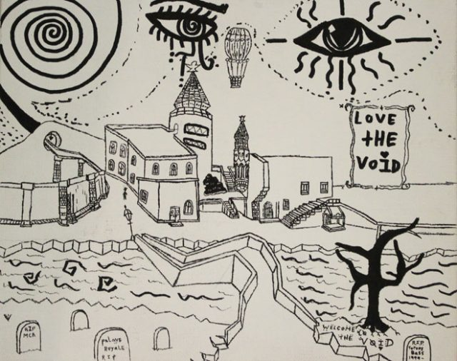 Welcome to the Void by Tyrone Bass of Little Priest Tribal College