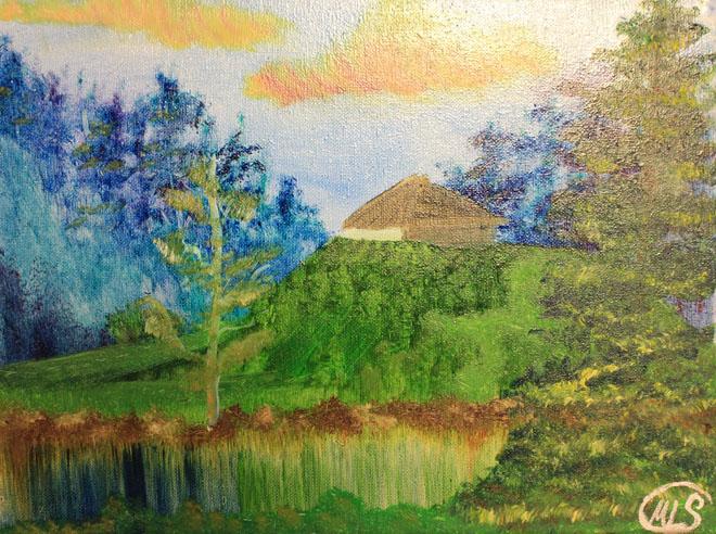 Green by Miranda Lauren Sanders of College of the Muscogee Nation
