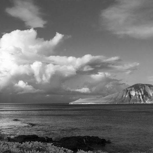 Manana Island by Kukunaokala Begay of Dine' College