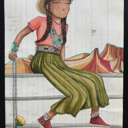 Untitled by DeAnna Suazo of the Institute of American Indian Arts