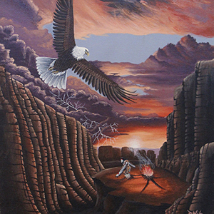 Dreaming Bird of Inter Mountain