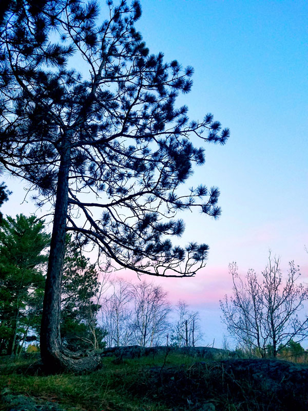 Placid Dusk by Jenae Miller of Fond du Lac Tribal and Community College